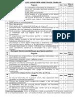 Check List Organiz-metodo Trab