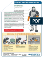 Material Medidas Seguridad Personal Soldar Operaciones Soldadura