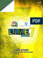 LIME 7 Case Study Lakmé Fashion Week - Wild Card (1)