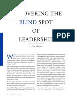 Blind Spot of Leadership