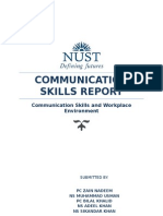 Communication Skills Report