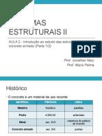 UNIVAG - Sistemas Estruturais II - Aula 02