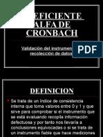 Alfa de Cronbach Ojasoooo