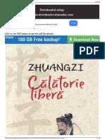 Zhuangzi Calatorie Libera Humanitas (2009)