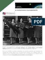 Las seis mujeres que revolucionaron la programación.pdf