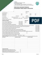 Broker Shield Broad Form Contingent Cargo Application v.C13