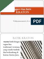 2.Batik Kraton