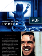 Why am I drawn to the Horror genre?