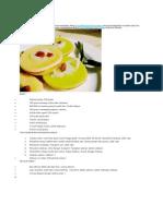 Resep Cara Membuat Kue Lumpur