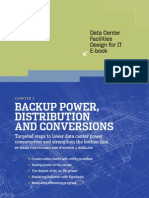 Data Center Design IT E-Book - Chapter 3 Backup Power, Distribution and Conversions