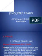 Jenis Jenis Fraud