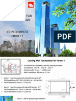 Curing System for Mat-foundation