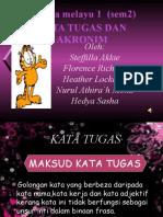 Bahasa Melayu Kata Tugas