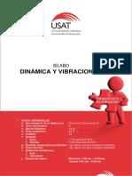 Silabo de Dinamica y Vibraciones-B- 2015-II