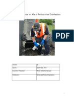 \Code of Practice for Water Reticulation Disinfection