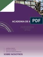 Presentación de Academia de Mercados