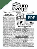 The Forum Gazette Vol. 1 No. 14 December 20, 1986 - January 5, 1987