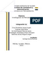 Confiabilidad, Vlidez y Errores en Investigación de Mercados