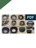 Reciclaje de un neumático