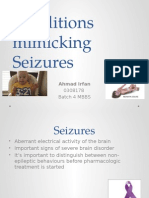 Conditions Mimicking Seizures Seminar