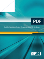 Certified Associate in Project Management (CAPM)® Handbook