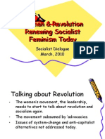 Renewing Socialist Feminism Today