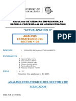 Analisis Estrategico y Del Sector de Mercados