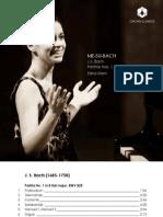 BACH, J.S.- Partitas Nos. 1, 2 and 6, BWV 825, 826 and 830 (ME-SU-BACH) (Edna Stern)