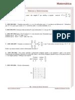 23 07-09-2009 Matrizes e Determinantes IME 2012