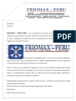 CARTA DE PRESENTACION FRIOMAX PERU EIRL.docx