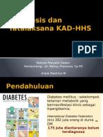 Referat - Diagnosis Dan Tatalaksana KAD-HHS