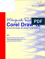 Menguak Rahasa Corel Draw 12