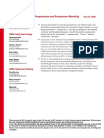 [Bank of America] Residential Mortgages - Prepayments and Prepayment Modeling