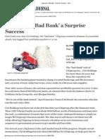 Citigroup's 'Bad Bank' a Surprise Success - WSJ