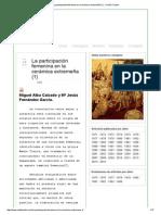 La Participación Femenina en La Cerámica Extremeña (1) » CHDE Trujillo