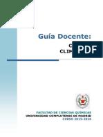GIQ Guia Docente Cambio Climatico 2015 FINAL