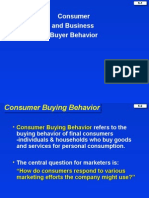 5. Consumer and Business Buyer Behavior