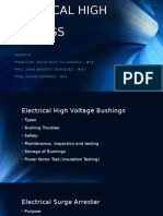 Electrical High Voltage Bushings