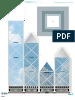 China Bank Papercraft