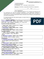 Ficha 8 - Expressões Idiomáticas