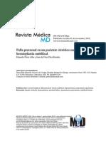 Falla Prerrenal en Paciente Cirrótico sometido a Hernioplastia Umbilical. Rev Med MD 2012