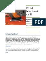 HydrostaticsFluid Prac Report