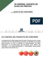 Ejemplos de Producto No Conforme