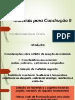 Materiais de construção 2