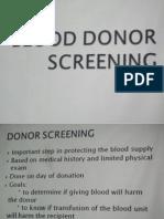 Pathology - Pasion Blood Donor Screening