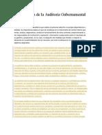 Clasificación de La Auditoría Gubernamental