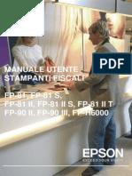 Epson SerieFP Manuale Operatore S