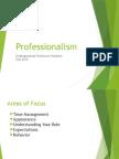 Professionalism PowerPoint