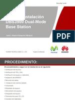 Guía de Instalación DBS3900 Dual-Mode Base Station v4.1