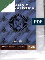 Criminalistica Pfa Nº24